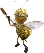 Verteidigerbiene